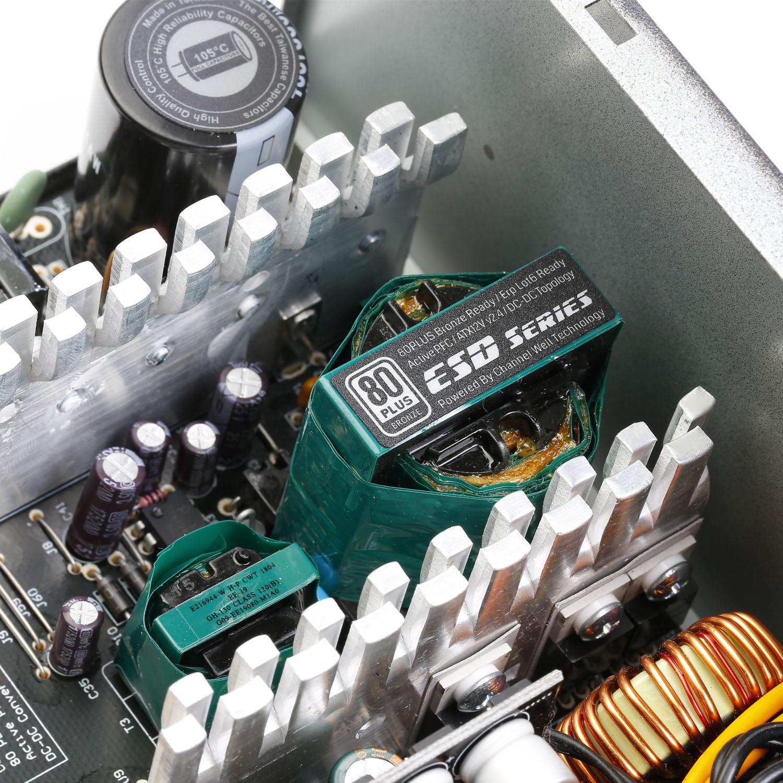 ESD Series DC to DC Power Supply Inside - منبع تغذیه کامپیوتر گرین مدل GP330A-ESD
