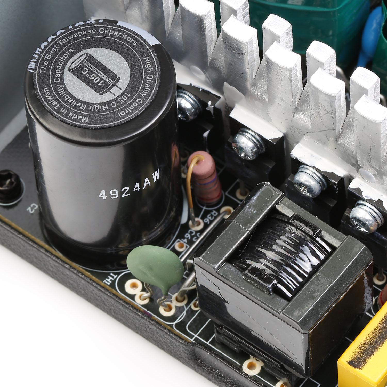 ESD Series DC to DC Power Supply Inside 02 - منبع تغذیه کامپیوتر گرین مدل GP330A-ESD