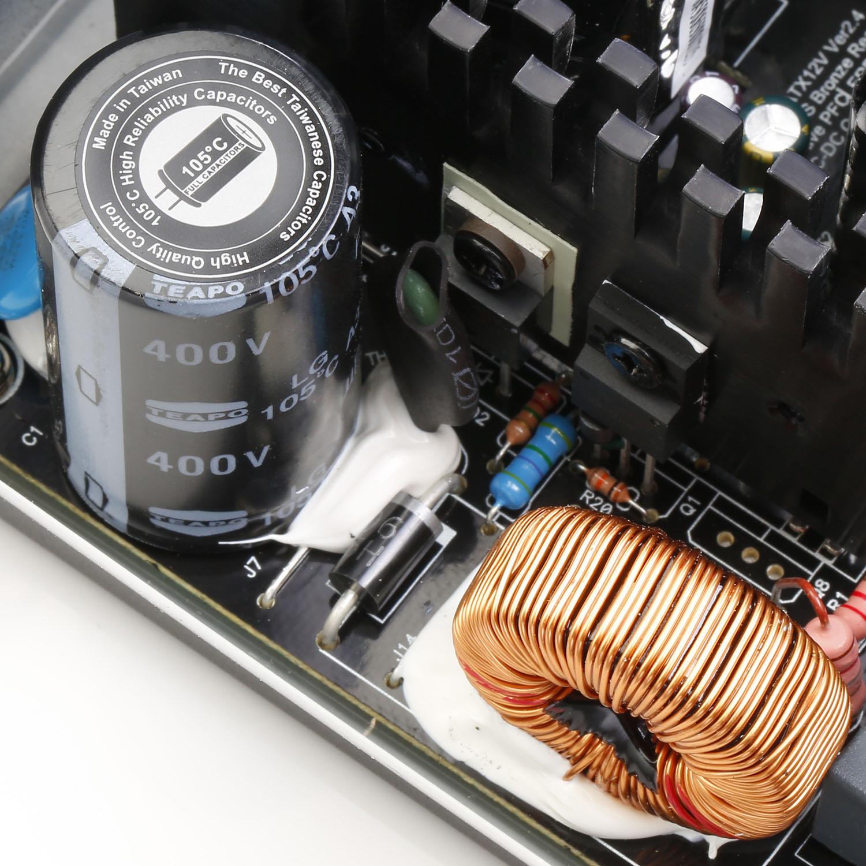 EUD Series DC to DC Power Supply Inside 02 - منبع تغذیه کامپیوتر گرین مدل GP380A-EUD