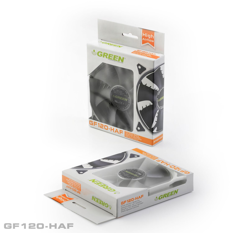 فن پر سرعت و قدرتمند گرین GF120-HAF