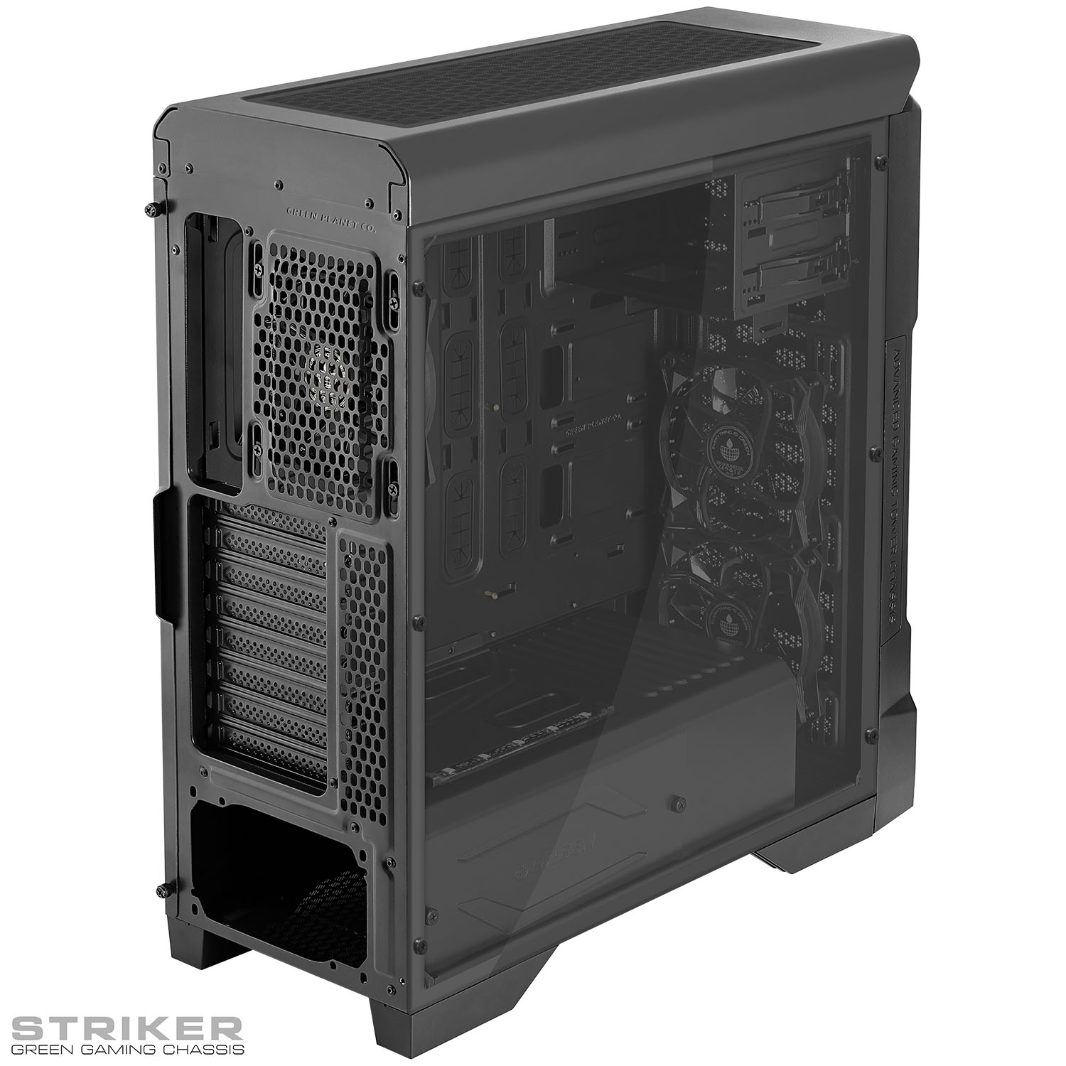 کیس گیم استرایکر Striker Gaming Chassis with USB Type-C