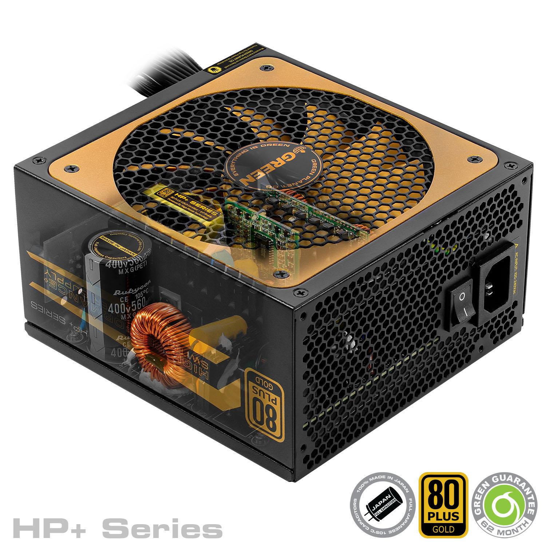 HP Plus Series - منبع تغذیه کامپیوتر گرین مدلGP600B-HP Plus