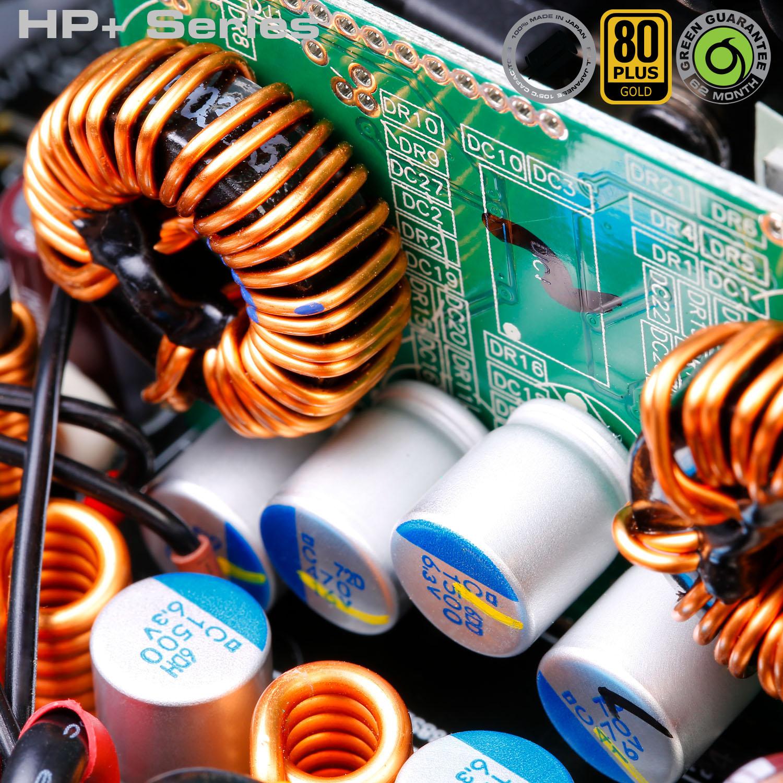 HP Plus Series 05 - منبع تغذیه کامپیوتر گرین مدلGP600B-HP Plus
