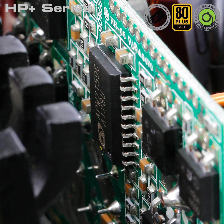 HP Plus Series 09 - منبع تغذیه کامپیوتر گرین مدلGP600B-HP Plus