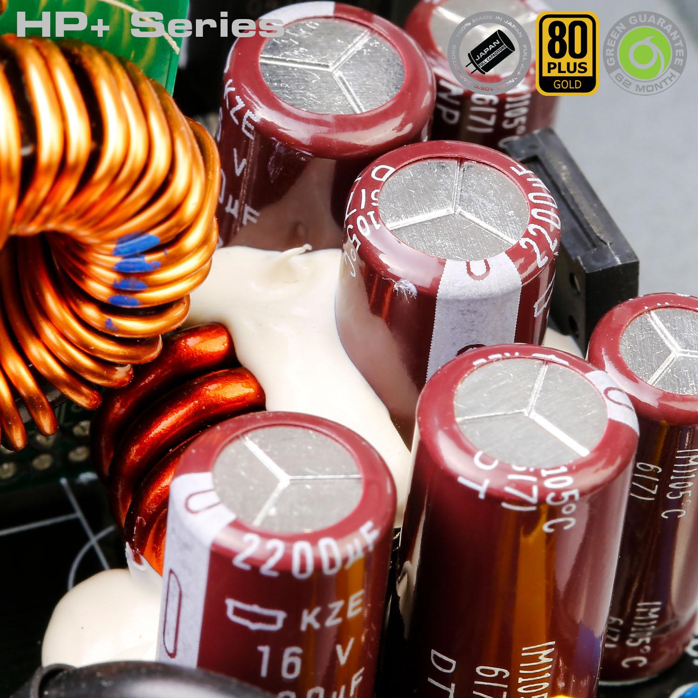 HP Plus Series 10 - منبع تغذیه کامپیوتر گرین مدلGP600B-HP Plus