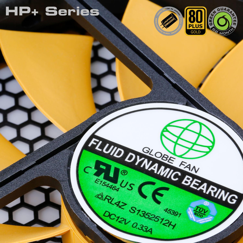 HP Plus Series 12 - منبع تغذیه کامپیوتر گرین مدلGP600B-HP Plus