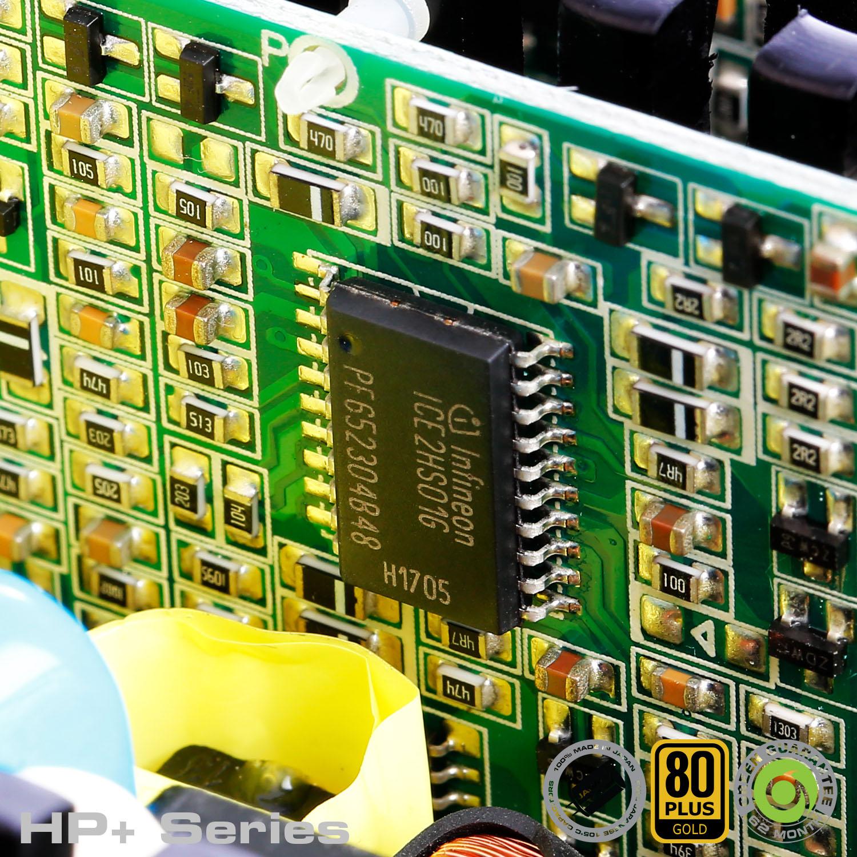 HP Plus Series 15 - منبع تغذیه کامپیوتر گرین مدلGP600B-HP Plus