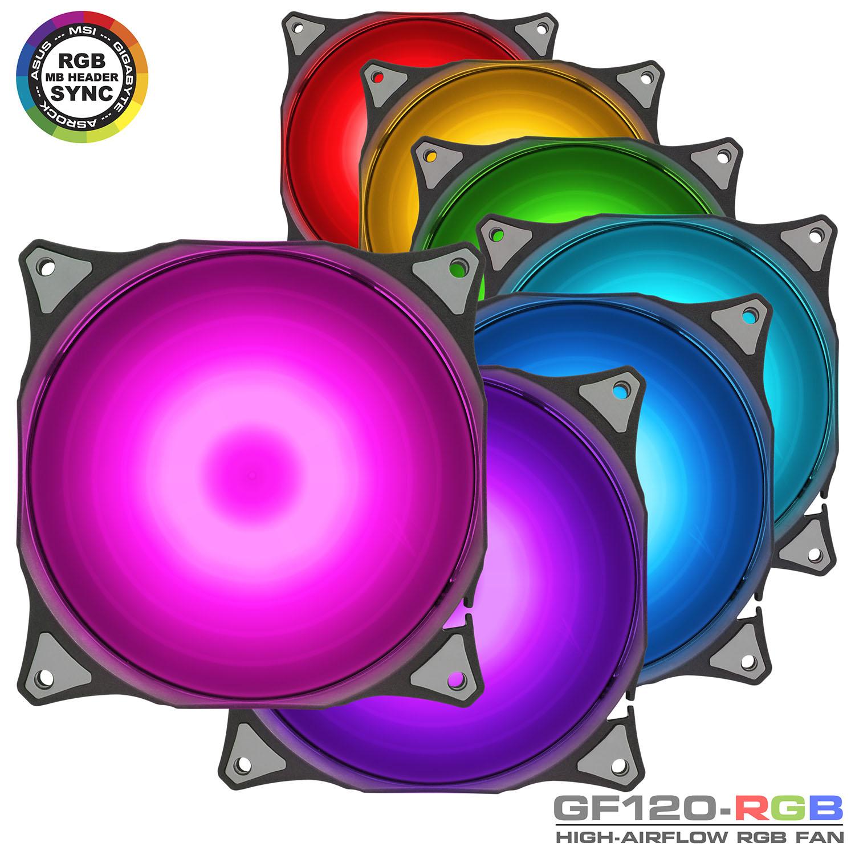 فن_آر_جی_بی_دور_بالا_گرین_RGB_High_AirFlow_Fan