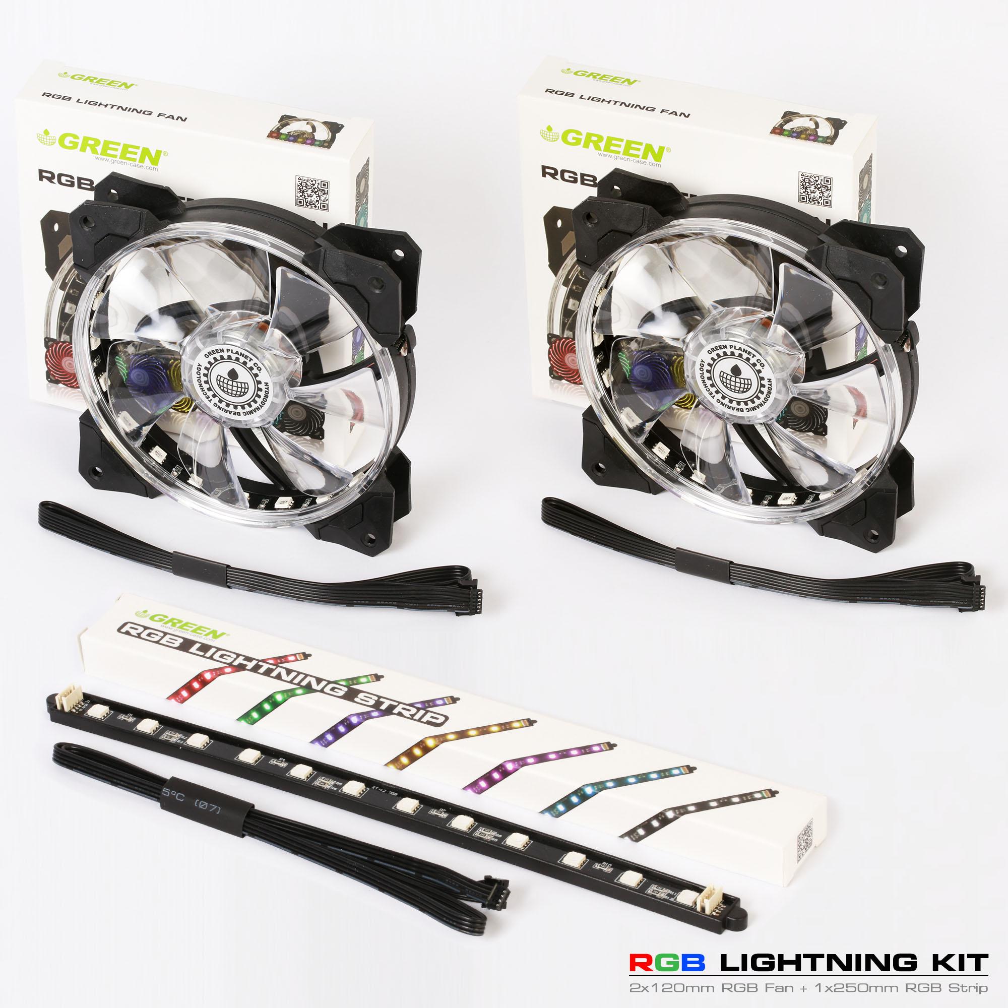 کیت آر جی بی گرین RGB Lightning Kit
