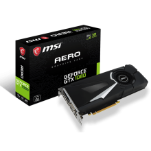 GeForce GTX 1080 AERO 8G