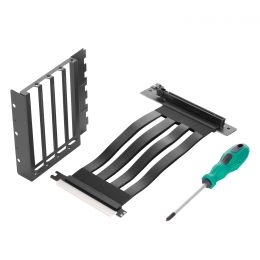Vertical VGA Mounting Kit | PCI-E 3.0 x16 Riser Cable