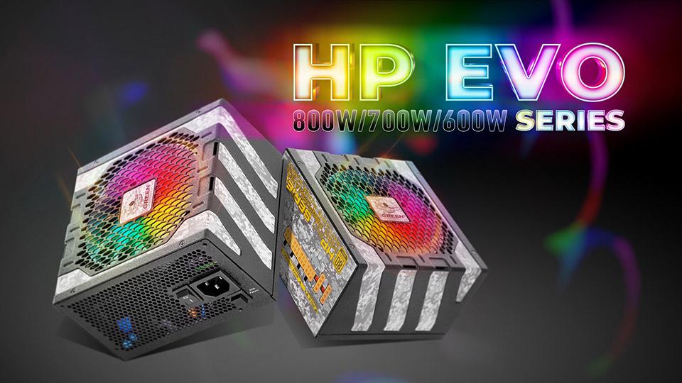 پاورهای جدید سری HP EVO گرین با نورپردازی ARGB و استاندارد Intel ATX 12V 2.52 روانه بازار شدند