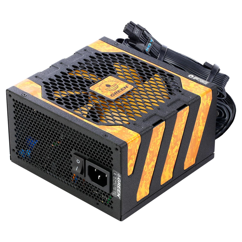 GREEN GP650A UK PLUS OV 1 - منبع تغذیه کامپیوتر گرین مدل GP650A-UK Plus