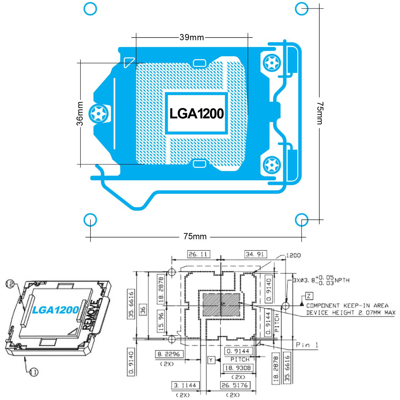 خنک کننده های گرین با پردازنده های سوکت جدید Intel LGA1200