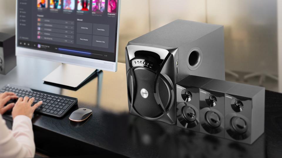 اسپیکر GS6115BT گرین، صدایی فراتر از انتظار